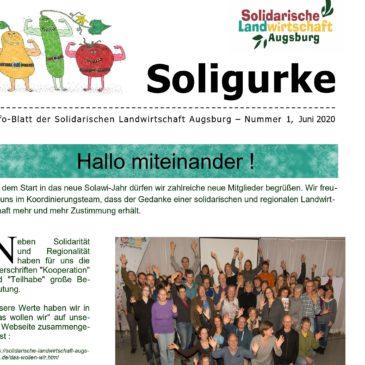 Soligurke – das SoLaWi- Infoblatt ist erschienen!