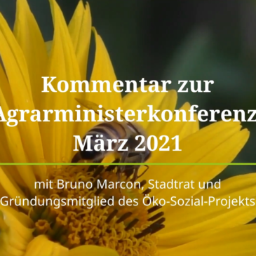 Agrarwende – Regional, Ökologisch, Solidarisch !